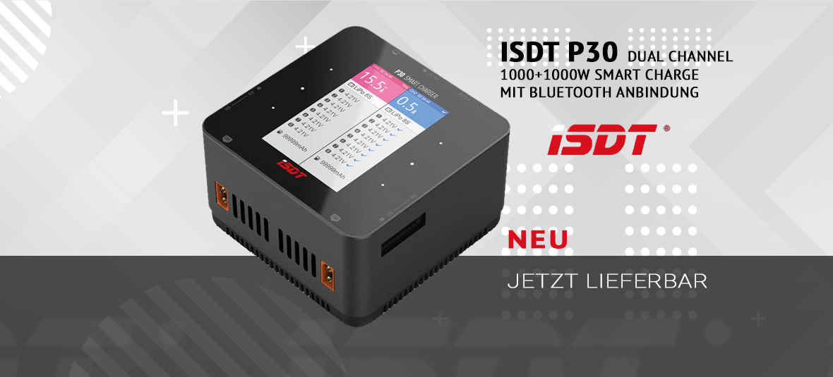 ISDT P30 Lader 2x1000W