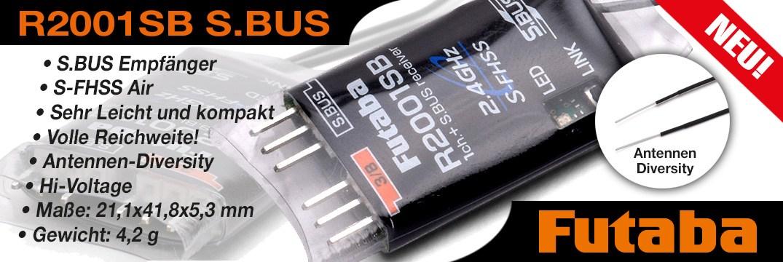 Futaba R2001 micro Empfänger