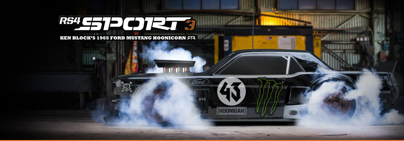 HPI Ford Mustang 1965 Hoonicorn RS4 Sport 3 2.4GHz RC Auto RTR 1