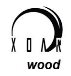 XOAR Holz Propeller Benzin Scimitar