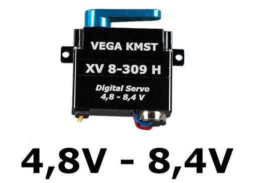 KMST LV/HV Servos 4,8 - 8,4V