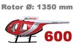 600er Scale Rümpfe