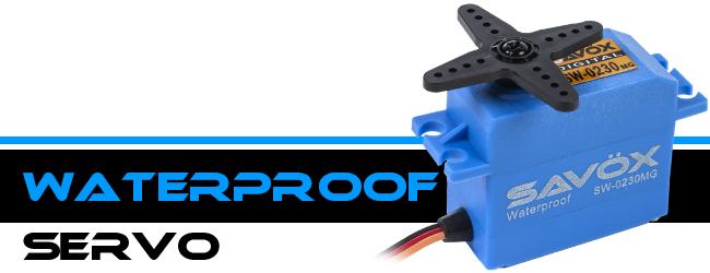 Savöx Waterproof Servos