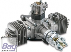 DLE60 60ccm Boxer Benzin Motor incl. Elektronischer Zündung