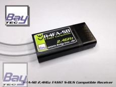 Bay-Tec R4SF 4 Kanal Futaba S-FHSS Kompatibler 2,4 GHz Empfänger