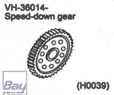 VH-36014 Speed down gear / Hauptzahnrad