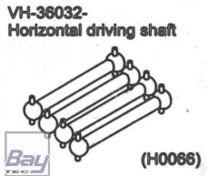 VH-36032 Horizontal driving shaft 1 stk.