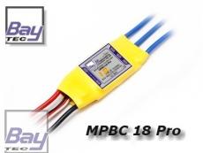 MPBC 18A Pro Brushless Regler 18/22A 2-4 Lipos