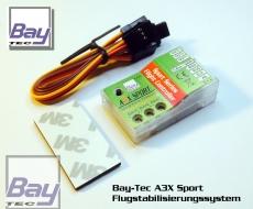 Bay-Tec A3X Sport V2 MEMS Flächen Flugstabilisierungs System