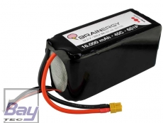 BRAINERGY LiPo 6s1p 22,2V 16000mAh 45C XT60 für S800
