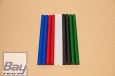 10 Heißklebe-Sticks 11 x 200 mm - bunter mix