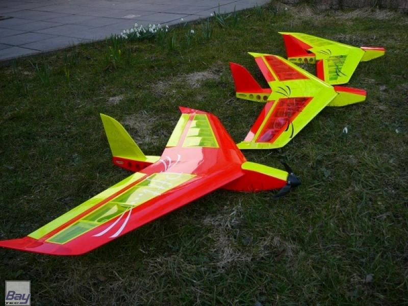 Nurflügler Pftt Baukasten 104 Cm Bay Tec Modelltechnik