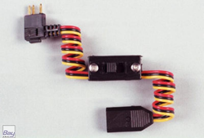 Schalterkabel ohne Ladebuchse, Graupner, für BEC - Bay-Tec Modelltechnik