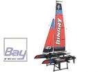 Binary Catamaran Yacht RTR 2.4GHz - Blue 710mm Mast