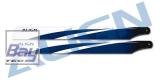 Align 360mm Carbon Hauptrotorblätter, blau