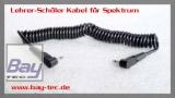 Bay-Tec Lehrer-Schüler Kabel für Spektrum Sender