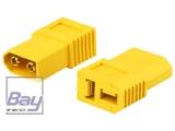 Adapter • XT60-D • XT60 Stecker  Deans Buchse