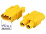 Adapter • XT60-E • XT60 Stecker  E-flite EC3 Buchse