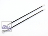 Blade 180 CFX: Tuning Halter Heckausleger (CFK/Alu)