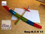 Bay-Tec   BAY-R.E.S  RES Klasse Segler 2000mm Laser Cut Bausatz