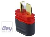 Goldkontakt • kompatibel mit Dean-T Plug • Stecker mit Haube