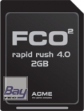 FCO2 rapid rush 4.0 2GB SD-Card