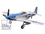 P-51D blue PNP 4 Kanal SW 75 cm PNP