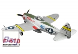 Dynam P-47D Thunderbolt PnP m. EZFW 1220mm