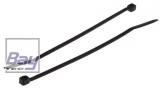 Kabelbinder Subminiatur 1,6 mm x 71mm, schwarz 100 stk