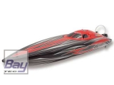 Rennboot Bullet V2 729mm 4s brushless Alpha Flame Scheme