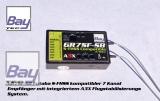 Bay-Tec GR7SF-SB 7 Kanal Futaba S-FHSS Komp. 2,4 GHz Empfänger mit integriertem A3X Flugstabilisierungssystem