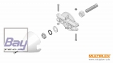 Multiplex Heron / Solius / Funray Motorwelle 5mm, Blatthalter, Spinner 54mm
