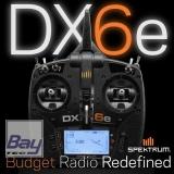 Spektrum DX6e 6 Kanal DSMX Fernsteuerung solo Sender