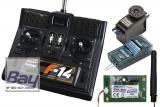 FUTABA F14 2.4 GHz+R3008SB+S148  40MHz und 2,4GHz