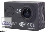 XciteRC WiFi 4K Action-Cam UHD 24MP schwarz