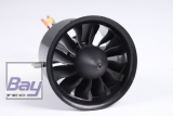 FMS 70mm Ducted Fan / Impeller (V2) 12 Blatt incl. Brushless Motor 2860-KV1850 (für 6S)