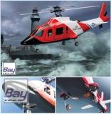 Agusta 109 Coast Guard Rumpfzelle