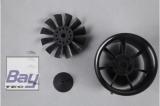 FMS 80mm 12 Blatt Ducted Fan / Impeller KIT ohne Motor