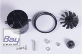 FMS 70mm Ducted Fan / Impeller (V2) KIT (ohne Motor) - 12 Blatt