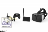 Hubsan X4 Storm Racing Drone FPV Quadrocopter - RTF-Drohne mit HD-Kamera,  4.3-Videobrille, Akku, Ladegerät und Fernsteuerung (H122D)