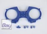 Graupner  Frontplatte mz-12 Fernsteuerung blau mit Schalterkappe, Knüppel