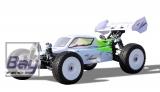 Planet Pro 4WD Buggy RTR 1:8, 2,4GHz, weiß-gelb incl. 2 Lipo Akkus