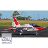 PREMIER AIRCRAFT FLEXJET 90MM EDF IMPELLER JET SUPER PNP 1531mm ORANGE MIT AURA 8 AFCS