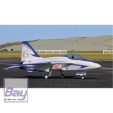 PREMIER AIRCRAFT FLEXJET 90MM EDF IMPELLER JET SUPER PNP 1531mm BLAU MIT AURA 8 AFCS