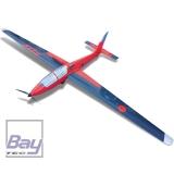 TOMAHAWK SPORT MDM-1 Fox 3,5 m elektro PNP Voll GFK lackiert Kunstflug Segelflugzeug
