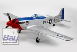 DYNAM P51 MUSTANG 1200mm FRED GLOVER V2 PNP incl. EZFW