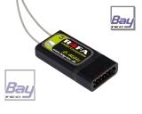 Bay-Tec R4FA 4 Kanal FASST Kompatibler 2,4 GHz Empfänger