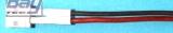 0,25 mm² Silikon rt/sw,30 cm, lose Gegenkabel zu E-flite Minilipo Blade mCPX - Made in Germany -
