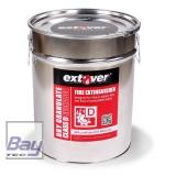 Extover® - Brandschutz Feuerlöschgranulat für Lithium Akkus - Metalleimer - 30l
