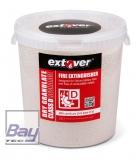 Extover® - Brandschutz Feuerlöschgranulat für Lithium Akkus - Kunststoffeimer - 33l